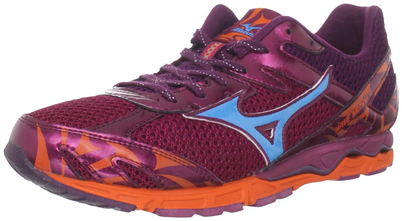 d6f0ce2eab0b Amazon.com | Mizuno Men's Wave Musha 4 Running Shoe, Ember/Fluorite/Red  Plum, 11 D US | Road Running