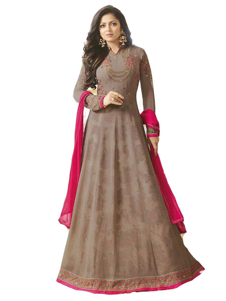 ziya Designer Indian Fashion Anarkali Salwar Kameez Party Wear LT NITYA2