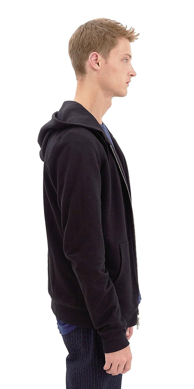 Takuya Duncan Maidstone Tailored Heavy Weight French Terry Zip Up Hoodie Black