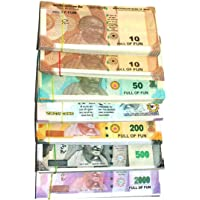 Vinay Sales Artificial Coupon Playing Currency Notes for Fun Paper (80 X 7 Notes)