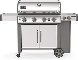 Weber 62006001 Genesis II S-435 LP Grill, Stainless Steel