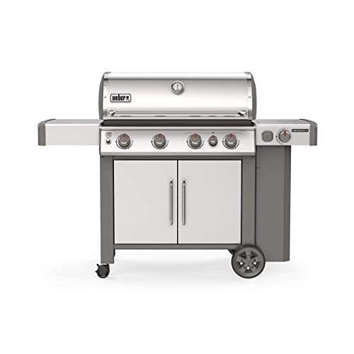 Weber 62006001 Genesis II S-435 4-Burner Liquid Stainless Steel