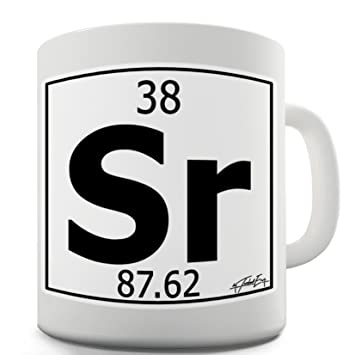 Amazon Twisted Envy Periodic Table Of Elements Sr Strontium