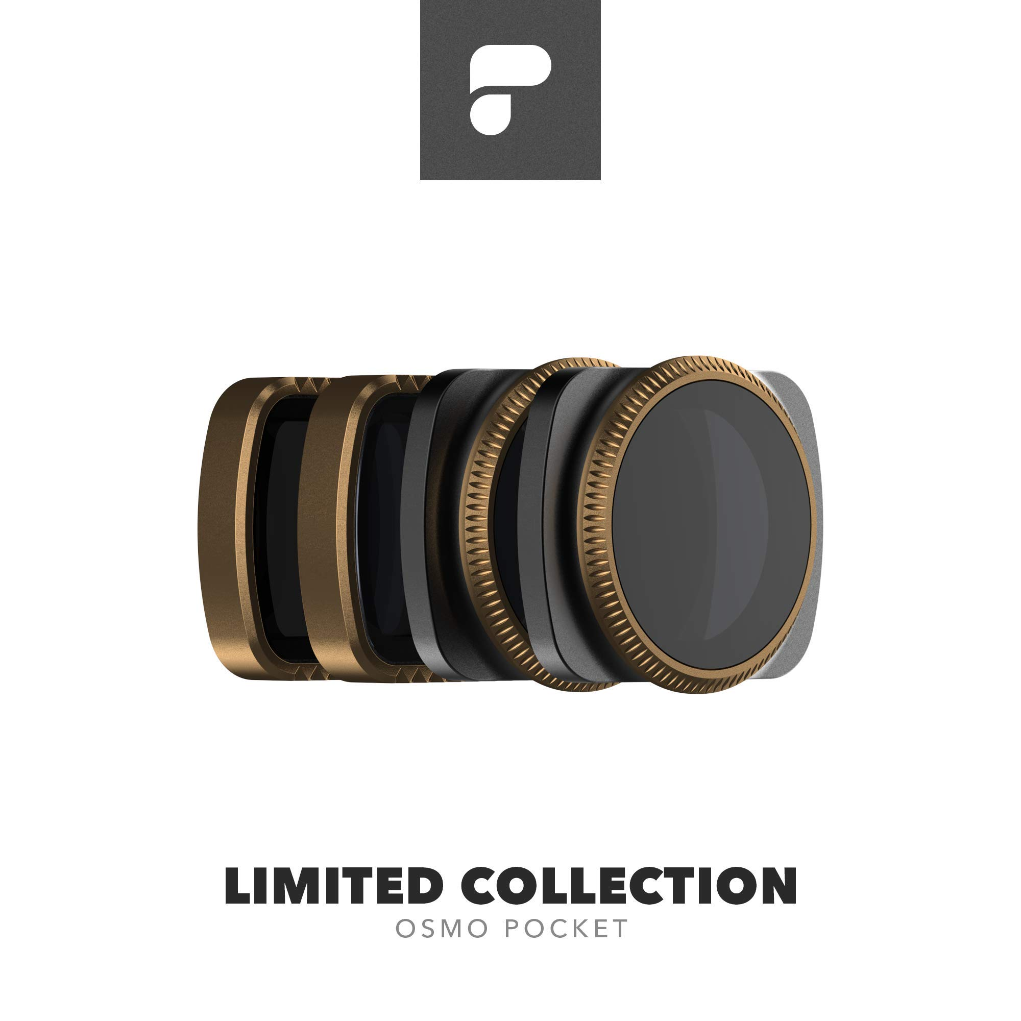 PolarPro Cinema Series Filter 4-Pack - Limited Collection for Osmo Pocket by PolarPro