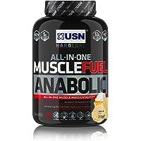 USN Muscle Fuel Anabolic Muscle Gain Shake Powder, Vanilla, 2 kg