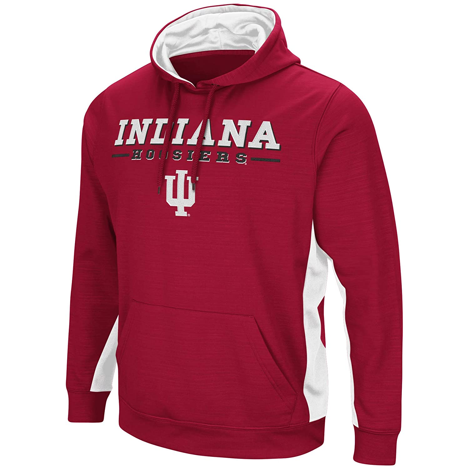 Colosseum Indiana Hoosiers Youth Boys Red Setter Pullover Hoodie Small