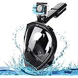 Speedsporting Snorkeling Snorkel Mask Full Face 180 Degree Snorkeling Masks Diving Mask Anti-fog Anti-leak Free Breathing Design