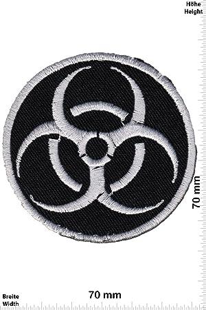 Aufn/äher B/ügelbild Applikation Iron on Patches Biohazard