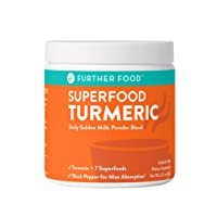 Further Food Superfood Turmeric Golden Milk Boosted with 7 Superfoods & Adaptogens...
