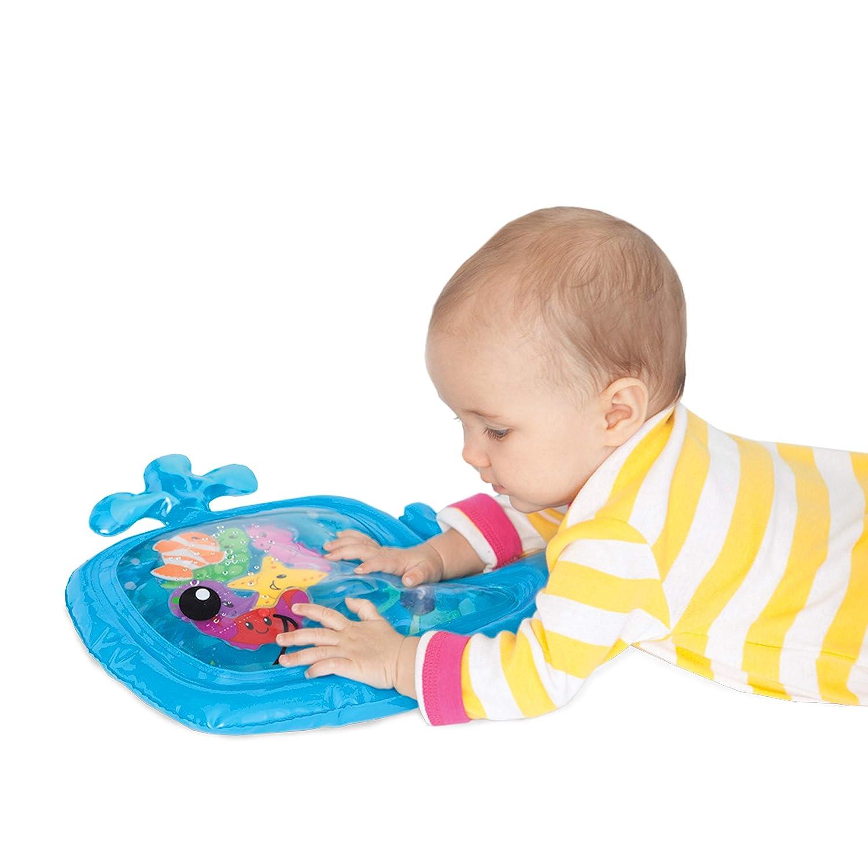 es el Momento de diversi/ón Juego Centro de Actividad llenado agua Fun n Play Mat,Alfombra Inflable Juego para ni/ños peque/ños