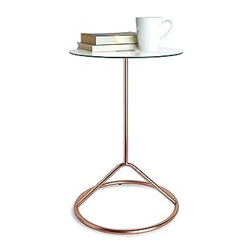 Umbra Loop Side Table, Copper