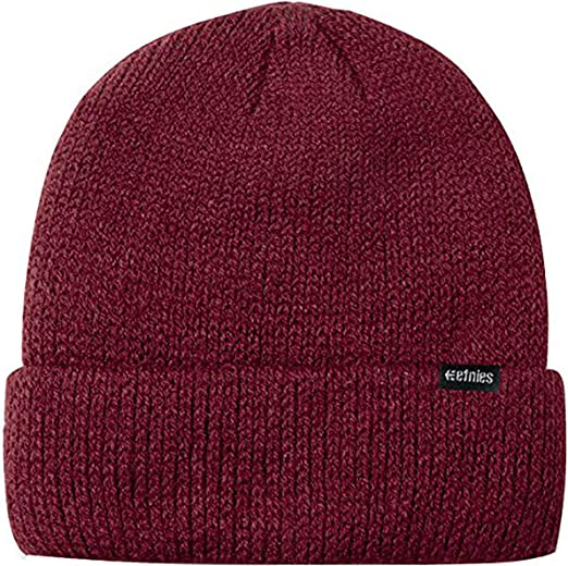 etnies Warehouse Beanie -Fall 2017-(4140001280_602) - Burgundy ...