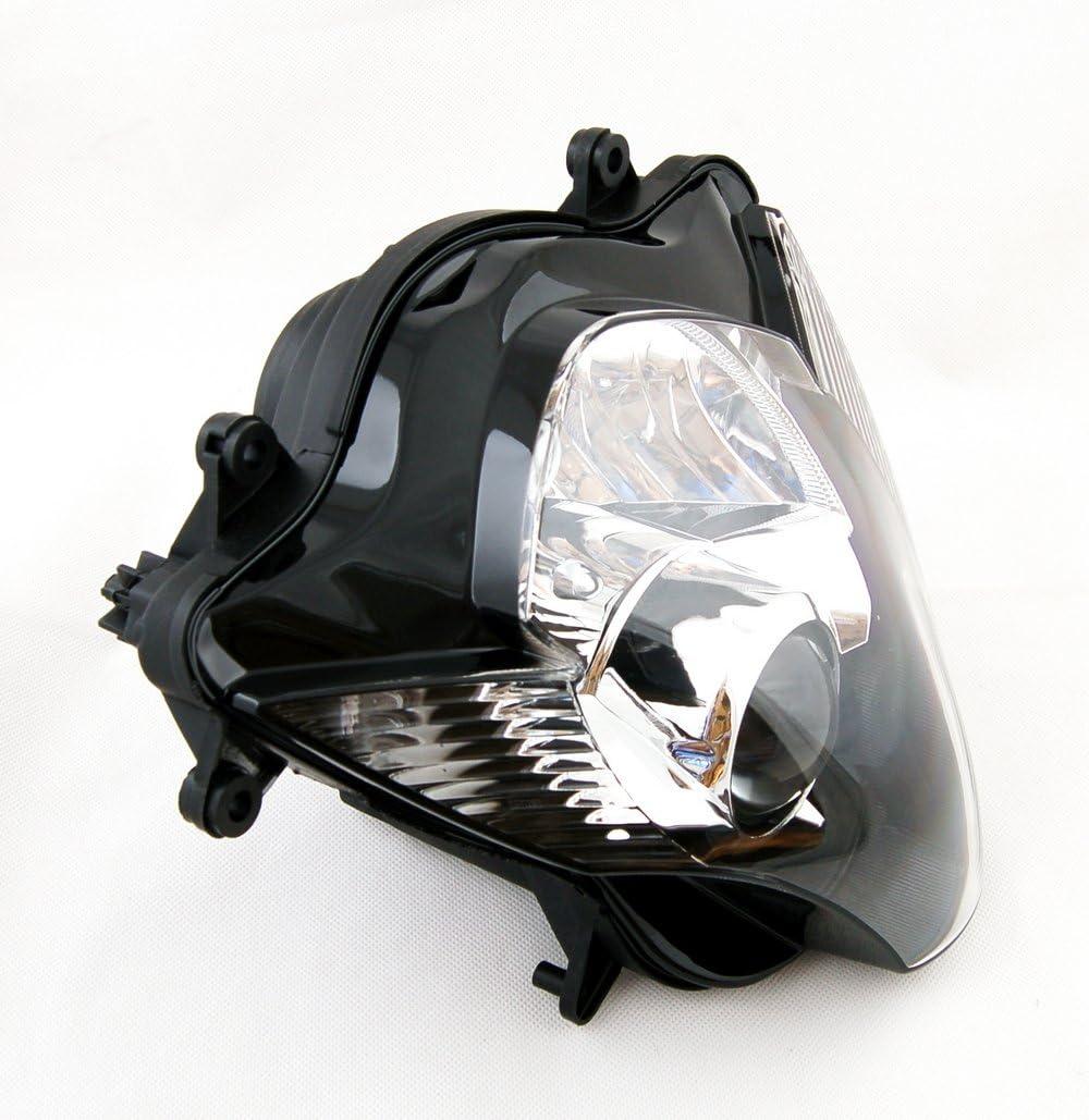 Artudatech Faros delanteros de motocicleta faros delanteros de repuesto para SUZU-KI GSXR 600//750 K6 2006 2007