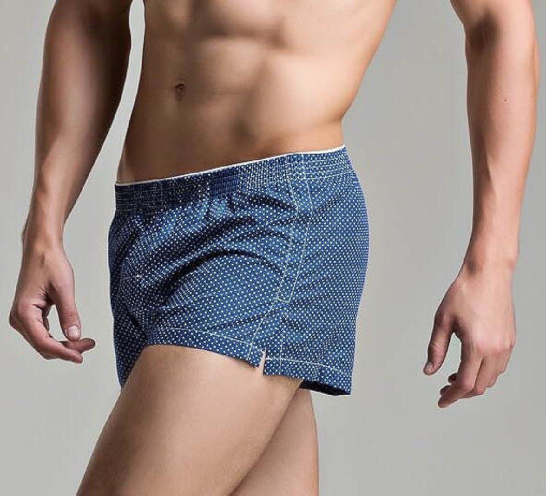 WSPLYSPJY Mens Plaid Check Soft Cotton Sleep Lounge Pajama Shorts