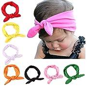 Baby Girl Cute Headband Head Wrap Hair Band,Style 1 (8 Pack),One Size