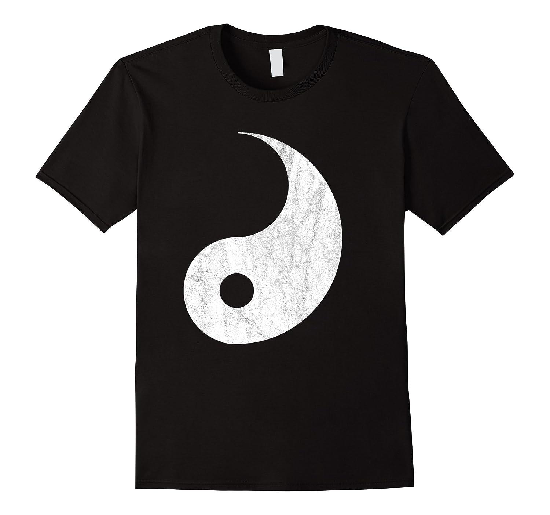Yin Yang Halloween T-shirt Couples Costume for Adults Kids-T-Shirt