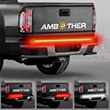 """AMBOTHER 5-Function 48""""/49"""" Truck Tailgate Side Bed Light Strip Bar 3528-72LED Waterproof IP67, Turn Signal, Parking, Brake, Reverse Lights for Pickup SUV Jeep RV Van Dodge Ram Chevy GMC Red/White"""