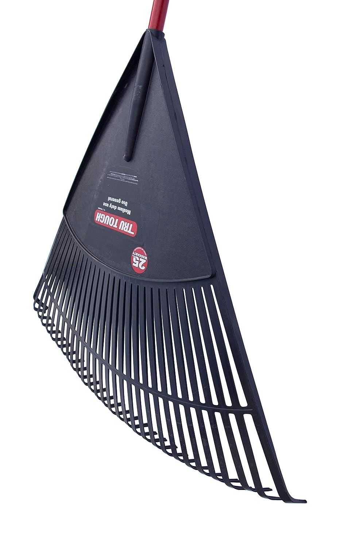 con Manico in Fibra di Vetro Willys-Fachmarkt Truper Rastrello Flessibile in plastica 76 cm di Larghezza