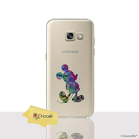 6f38059fe5fb0e Fan Art Étui Coque de Téléphone pour Samsung Galaxy A3 2017   Silicone Doux  Gel