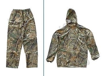 Sutter Hombre Chaqueta y Pantalón de Caza (Traje de Lluvia/Camuflaje (2 Piezas) Camuflaje, Tamaño: L: Amazon.es: Deportes y aire libre