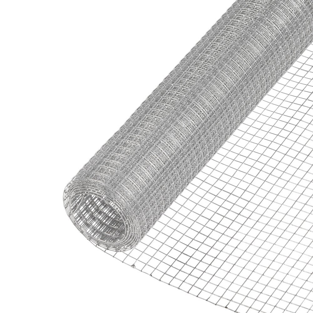 YARDGARD 308260B 1/2 Inch Mesh, 48 Inch by 25 Foot 19 Gauge Green PVC Coated Hardware Cloth by YARDGARD (Image #2)