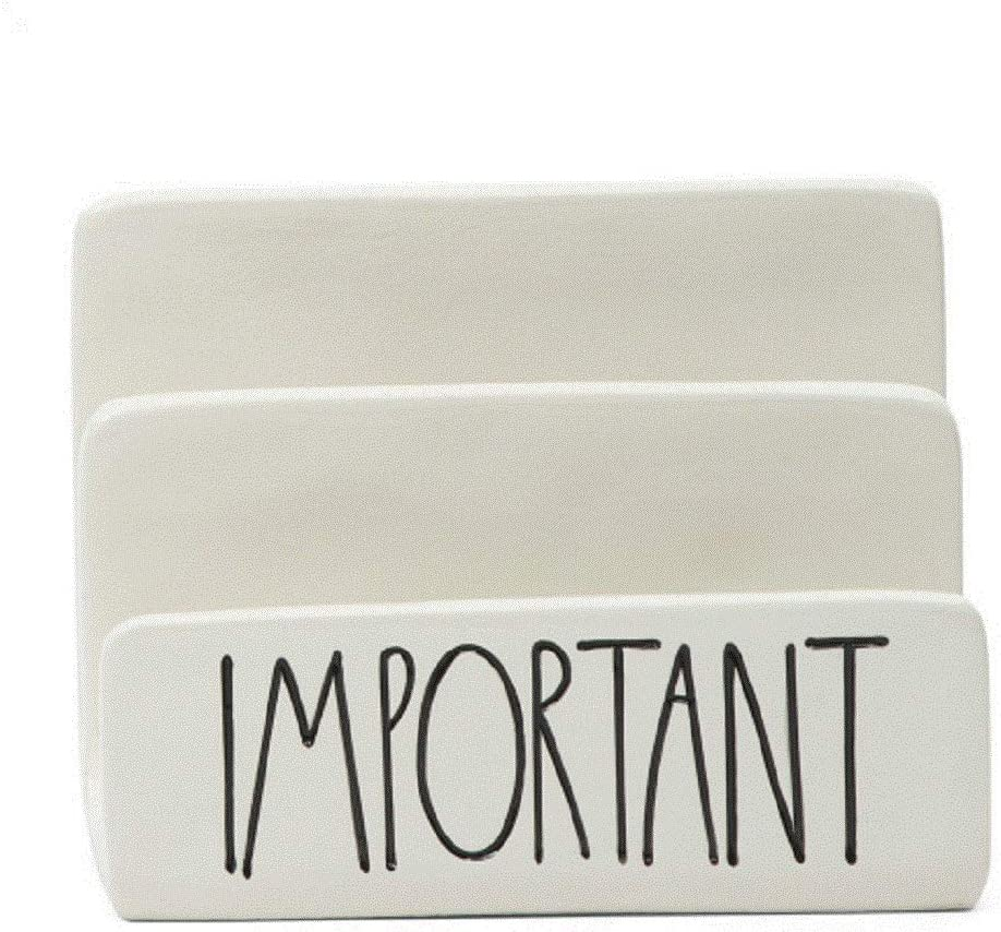 Rae Dunn by MagentaImportant in Large Letters LL Ceramic Letter Sorter