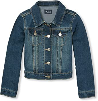The Children's Place Girls' Denim Jacket - Blue