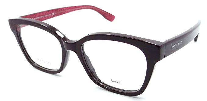 cb423c1fe0c Image Unavailable. Image not available for. Color  Jimmy Choo Rx Eyeglasses  Frames JC 150 ...