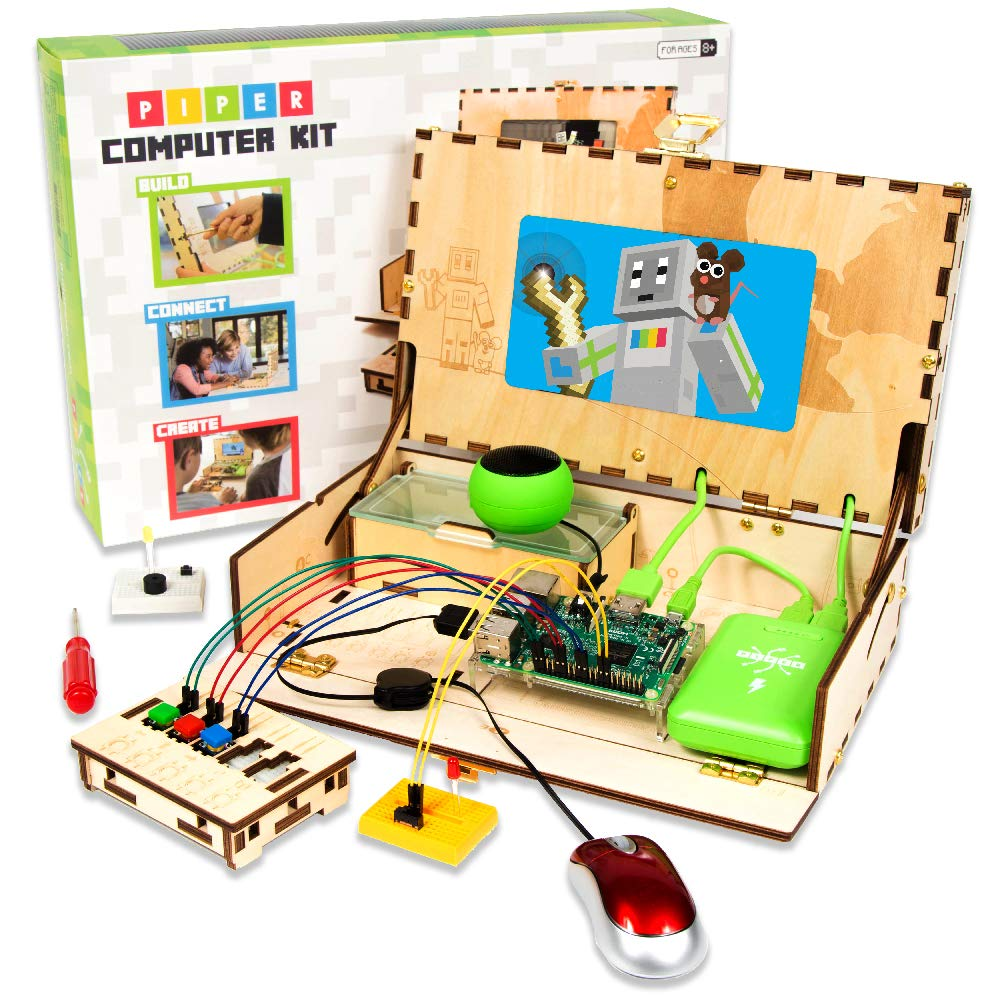 Piper Computer Kit Minecraft Raspberry Pi Edition Blocks And Augmentedreality App Teaches Kids Circuitry Basics Handson Teach Your To Code Educational Stem Toys Tech Toy Of The Year Finalist 2018