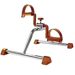 Vaunn Medical Pedal Exerciser (Silver with Copper)