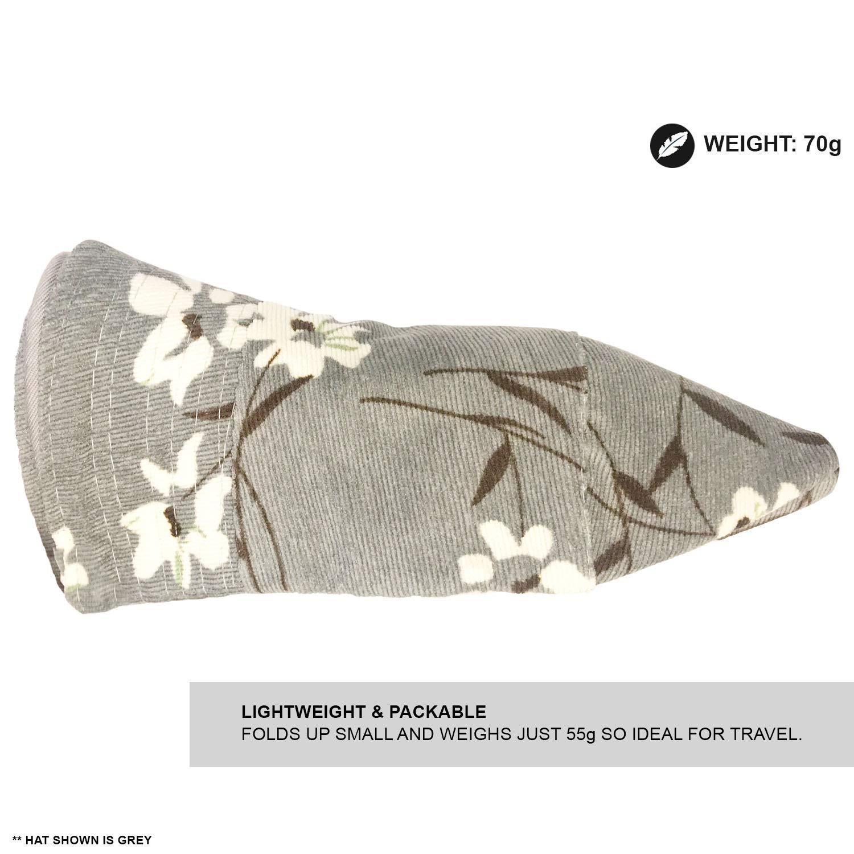 Sommerhut mit Blumenmuster Damen weiches Material TOSKATOK/® UPF 50