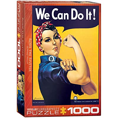 EuroGraphics Rosie The Riveter by Howard Miller 1000 Piece Puzzle: Toys & Games
