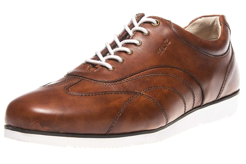 Manz Cremona AGO Business-Schuhe in Übergrößen Braun 123103-22-177 große Herrenschuhe