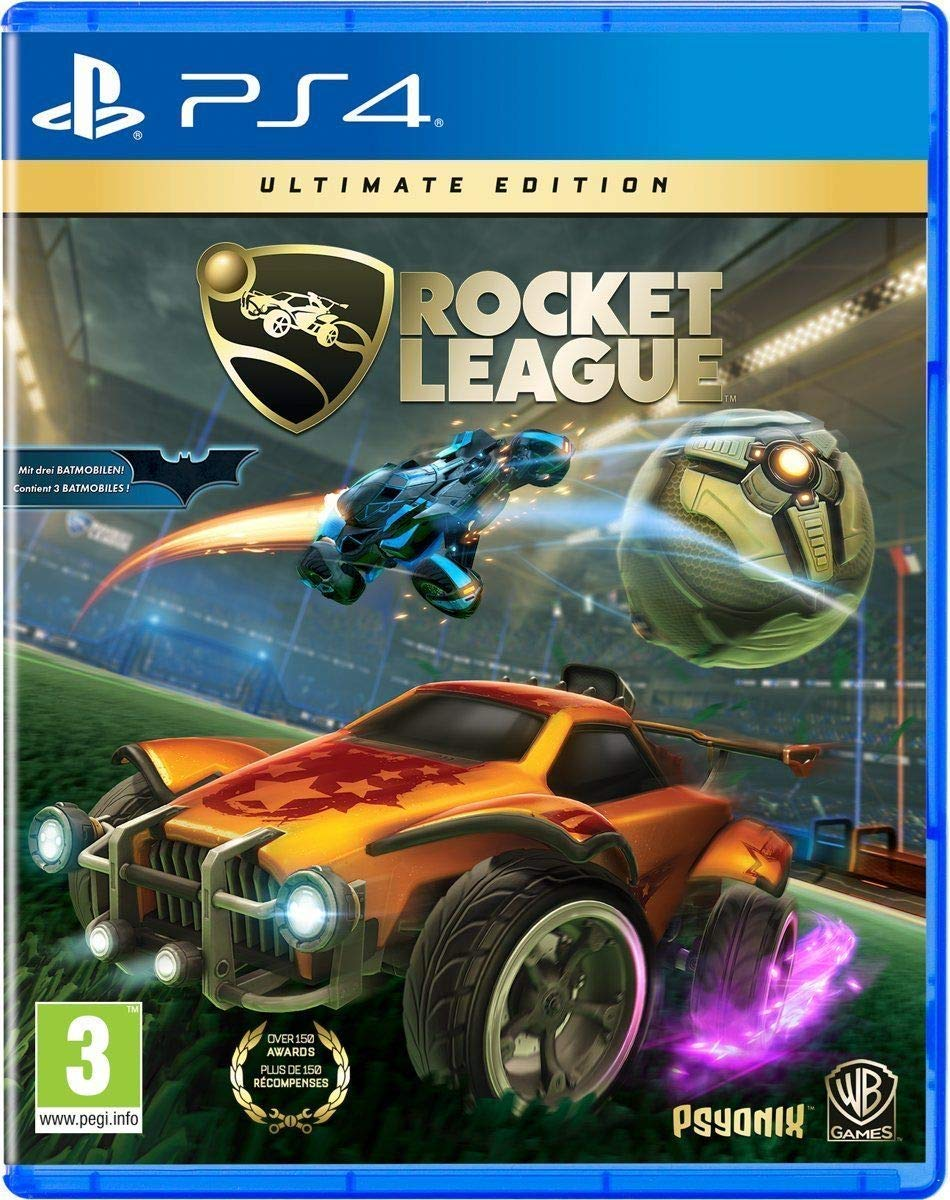 Amazon com: Rocket League Ultimate Edition (PS4) UK IMPORT