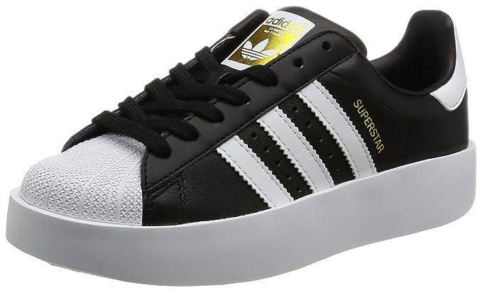 380aea7d97b64f Amazon.com  Adidas Superstar Bold Womens Sneakers Black  Clothing