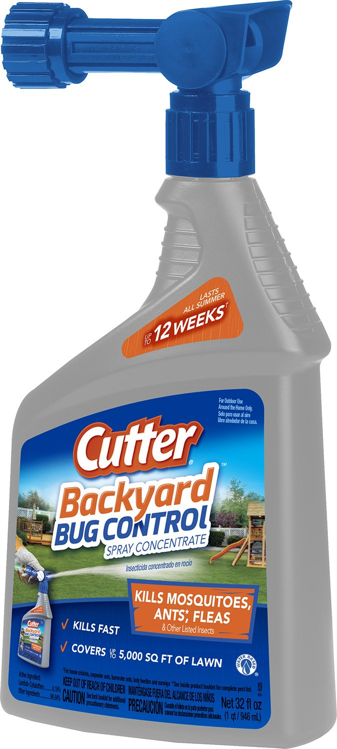 Amazon.com : Cutter Backyard Bug Control Spray Concentrate (HG-61067) (Pack  of 6) : Insect Repelling Products : Garden & Outdoor - Amazon.com : Cutter Backyard Bug Control Spray Concentrate (HG-61067