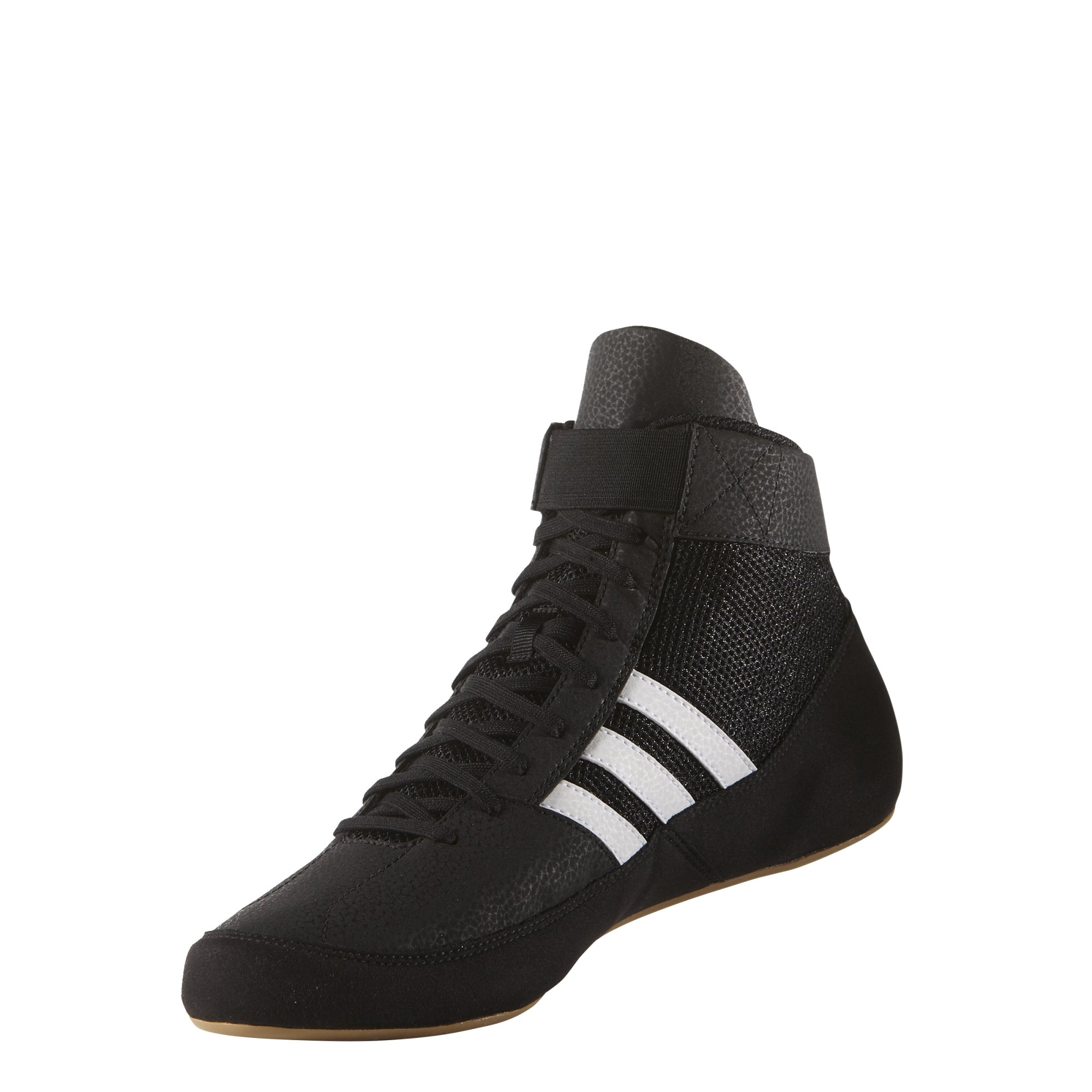 adidas Hvc 2 Black/White Wrestling Shoes 8.5 by adidas