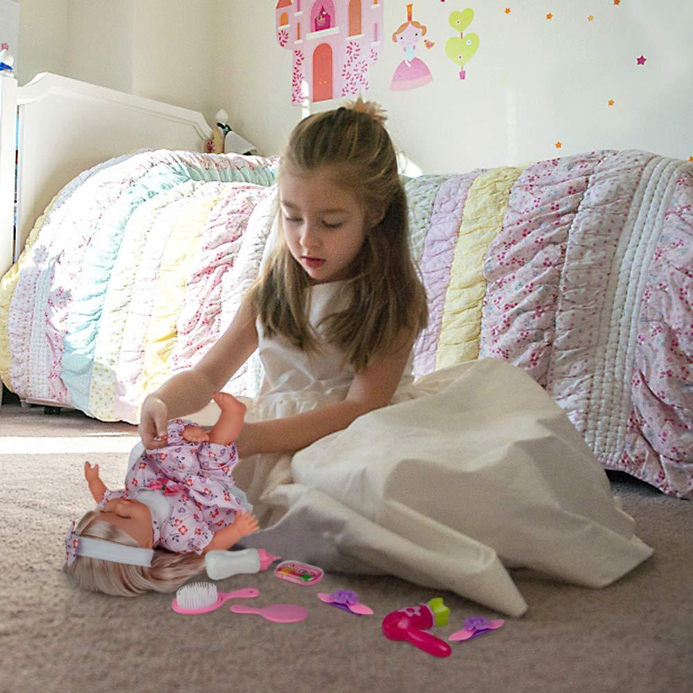 Amazon.es: Bebe Muñecas Reborn Barbie Realistas Bebe Reborn Niña Muñecas de Silicona con Musica y Maquillaje Juguetes para Niños 3 Años: Juguetes y juegos