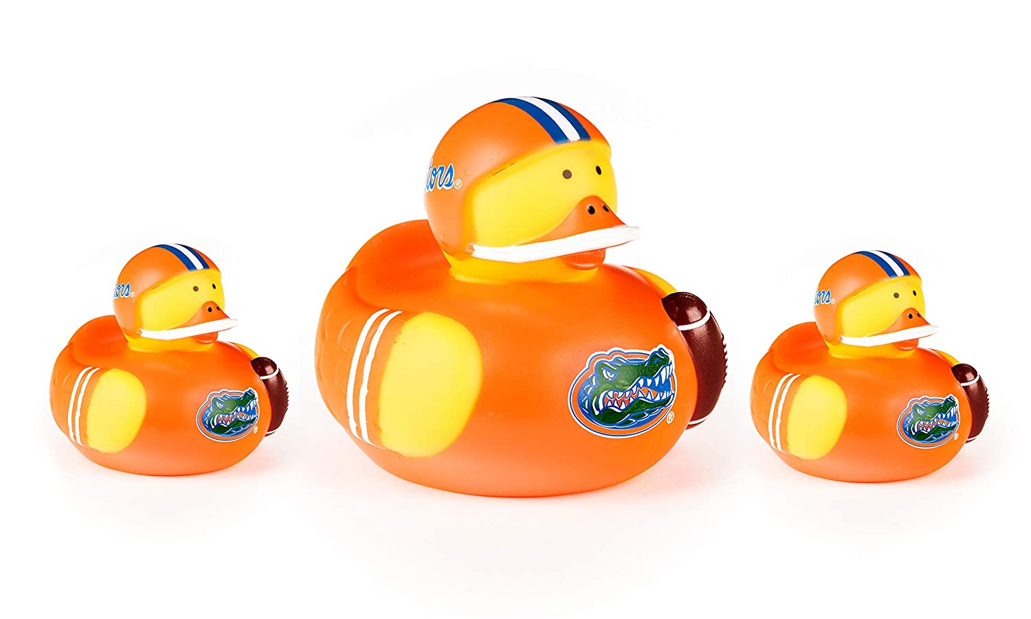 BSI NCAA Unisex NCAA 3 Pack All Star Ducks Pack of 3-1 Large, 2 Small