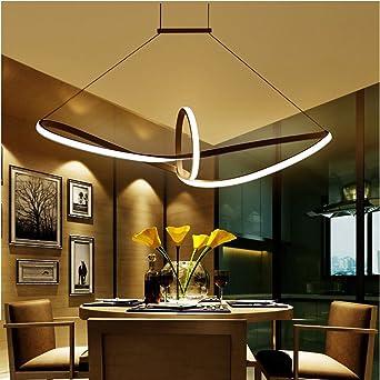 LED Pendelleuchte Esstisch Hängelampe Pendellampe Kronleuchter Wohnzimmer  Küche Pendel Moderne Aluminiu Hängeleuchte Pendellänge Maximum