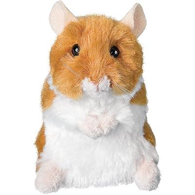 "Douglas Cuddle Toys Plush Brushy Hamster 5"": Toys & Games"