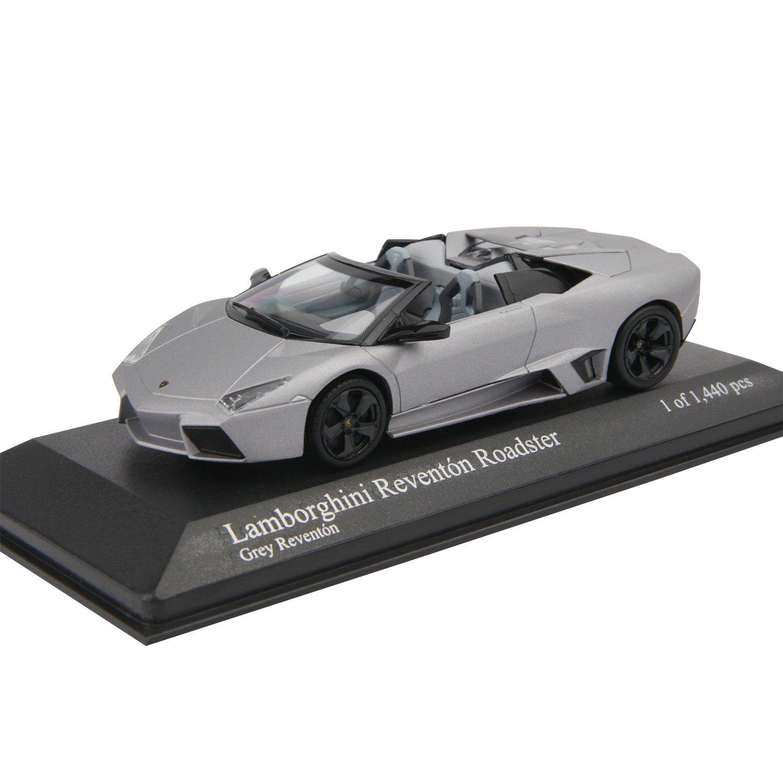 Minichamps 400103960 - Lamborghini Reventon Roadster, Maßstab: 1:43, matt grau