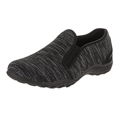 Skechers Relaxed Fit Breathe Easy Like Crazy Womens Slip on Loafers | Loafers & Slip-Ons