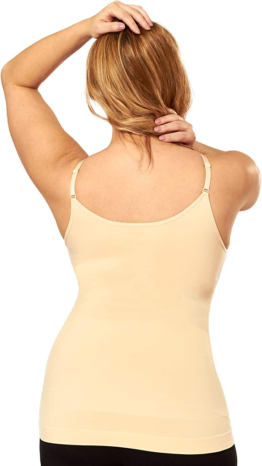 Compression Tummy Control Camisole for Women Shapewear for Women Shapermint Scoop Neck Cami