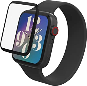 Max Protection by ZAGG - 2 Pack - Hybrid Glass Screen Protector - Made for Apple watch 44 mm Series 6 / SE / 5/4, clear (990307900)