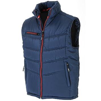 Airsoft Bekleidung & Schutzausrüstung XL Steppweste Jersey marine-rot Gr