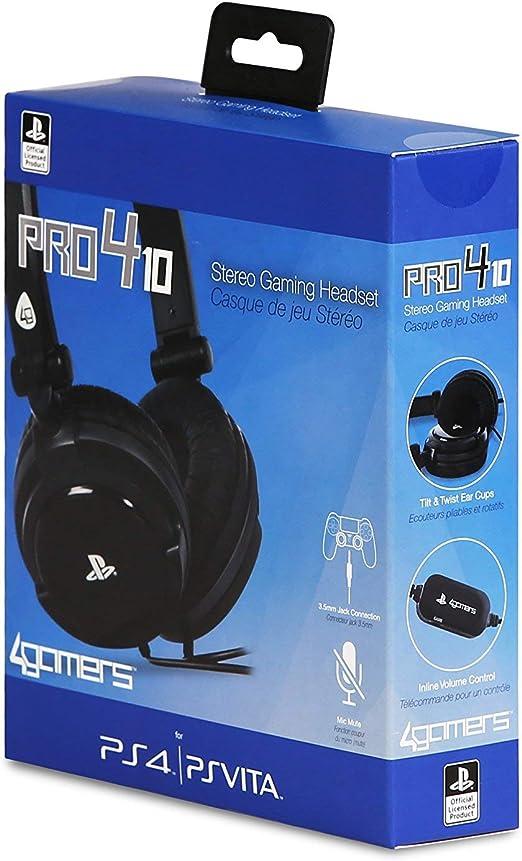 Ardistel - Stereo Gaming Headset (PS4, PS Vita): Amazon.es ...