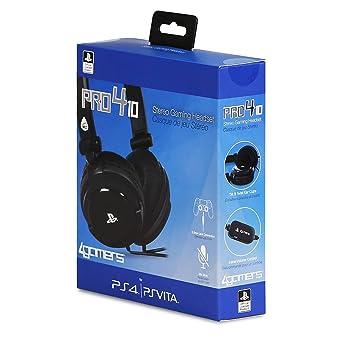 Micro Casque Gaming Stéréo Noir Sous Licence Officielle Playstation