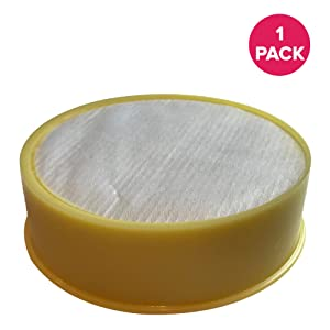 Crucial Vacuum Air Filter Replacement - Compatible With Dyson DC-17 - Replaces Post-Motor Filter Part 911235-01 - Models Dyson DC17 HEPA Style Post-Motor - Lightweight, Washable, Reusable (1 Pack)