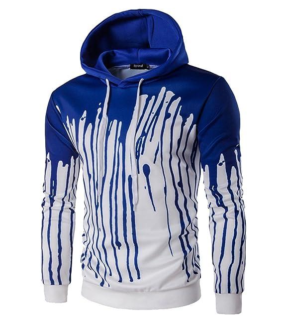 COCO clothing Sudaderas con Capucha Hombre Deportivas Chaqueta College Casual Chulas Jacket Imprimen Pullover Juvenil Hoodie